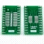 SOIC24 TSSOP24 SSOP24 SO24 SOP24 TURN DIP24 IC adapter Socket / Adapter plate PCB Suitable for Ia socket thumbnail 1