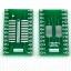 SOIC24 TSSOP24 SSOP24 SO24 SOP24 TURN DIP24 IC adapter Socket / Adapter plate PCB Suitable for IC socket thumbnail 1