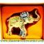 ของพรีเมี่ยม ของที่ระลึกไทย ช้าง แบบ 19 Size M สีทอง thumbnail 5
