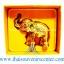 ของพรีเมี่ยม ของที่ระลึกไทย ช้าง แบบ 15 Size S สีทอง-น้ำตาล thumbnail 6