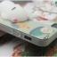 iPhone 7 - เคส TPU หลังนุ่มนิ่ม 3D ลายแมวขาว พื้นหลังเขียว thumbnail 14