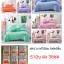 ชุดผ้านวม+ผ้าปูที่นอน เกรดA สีพื้น 6ฟุต 6ชิ้น thumbnail 7