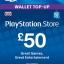 PSN Card UK £50 thumbnail 1