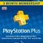 PSN Plus UK 3 month thumbnail 1