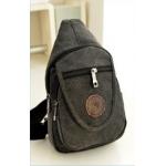 กระเป๋าสะพายข้าง สำหรับคนที่ชอบพกของเล็กๆ น้อยๆ ติดตัว - ดำ