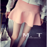 กระโปรงแฟชั่นเกาหลี สั้นกำลังดี ชายบานพริ้วๆ สีสันเข้ากับเสื้อตัวเก่งของสาวๆ ได้งายๆ เลยคร๊าา - โอรส M