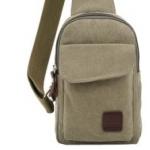 กระเป๋าเป้สะพายข้างสำหรับหนุ่มๆ ดีไซน์เท่ห์ๆ ขนาดกำลังดี - เขียว