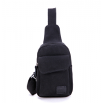 กระเป๋าเป้ใบกำลังดี จะสะพายข้างหรือสะพายหน้า ก็เท่ห์ไปอีกแบบ - ดำ