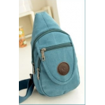 กระเป๋าสะพายข้าง สำหรับคนที่ชอบพกของเล็กๆ น้อยๆ ติดตัว - ฟ้า