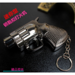 ไฟแช็ครูปทรงปืน มีให้เลือกหลายขนาด มีไฟฉายในตัว - แบบ 5