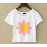 collection เสื้อยืดพื้นขาว สกรีนลายนิดๆ ดูสบายตา set 2 - ลาย 5