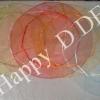 TCC-CH30 ขนาด 30 ซม.ถุงผ้าไหมแก้วแบบกลม(มีหลายสี)