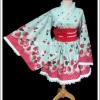 ยูกาตะโกธิคโลลิต้า ช็อคโกเบอร์รี่ Choco Berry Gothic Lolita Yukata