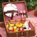 Mother Garden Picnic Basket