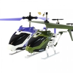 Web RC Double Pack Iron Eagle Helicopter - Green/Purple