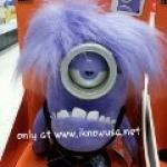 """*NEW*Despicable Me 2 - Minion Devil Purple 10"""" Plush Doll"""