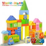 บล็อกไม้สร้างเมือง toy27