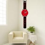 นาฬิกาติดผนัง Wall Sticker นาฬิกาข้อมือ time04