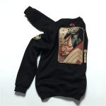 *Pre Order* Japanese Fashion เสื้อกันหนาวผ้าฝ้ายนุ่ม-ญี่ปุ่น สีดำ size M-L-XL