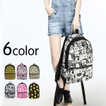 *Pre Order* กระเป๋าเป้แฟชั่น Korea canvas backpack schoolbag female