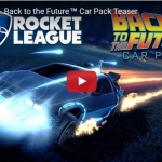 Rocket League - Back to the Future