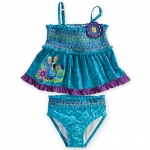 Anna and Elsa Tankini Swimsuit for Girls - 2-Piece
