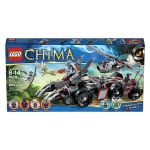 LEGO Legends of Chima Worriz' Combat Lair (70009)  Age: 8 - 14 years