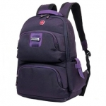 *Pre Order* Swiss Army Knife Backpack -Schoolbags Nylon 80% Polyester 20% /Color- ดำ/กากี/ชมพู/ม่วง -size 44X26 X14 cm.
