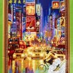 ภาพวาดแคนวาส กลางเมือง can14