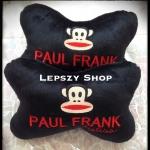 หมอนรองคอรูปกระดูก ลาย Paul Frank สีดำ#1