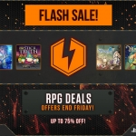 PlayStation Store US - Flash Sale ลดราคา 15 เกม RPG 75%