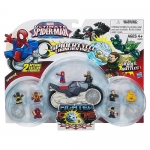Spider-Man Spider Pods Deluxe Sets and Vehicles