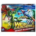 The Amazing Spider-Man Web Launchers Action Figure Playset - Sewer Slingshot