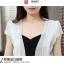 เสื้อคลุมกิ๊บเก๋ บางเบาแบบฉบับของผ้าชีฟอง สีดำและสีขาว ใส่ได้กับผ้าทุกสไตล์ thumbnail 28