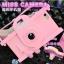 เคสไอโฟน 6 Plus /6s Plus เคสซิลิโคน Miss Camera สีชมพู thumbnail 1