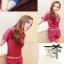 ใหม่ เสื้อเกาหลี ที่มาพร้อมกับกางเกงเข้าชุด ตกแต่งด้วยคริสตัลเม็ดใหญ่ สีสันโดนใจจริงๆ thumbnail 7
