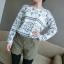 หใม่กางเกงขาสั้นแฟชั่นเกาหลี ตัดชายขาแบบคลื่น ผสมกับลวดลายสาน ใส่เข้ากับเสื้อตัวไหนก็ขึ้น thumbnail 7