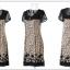 เดรสแฟชั่นเกาหลี สีสันและลวดลาย สวยเตะตา ใส่สบายด้วยผ้าที่บางเบาและยับบาก thumbnail 11