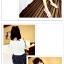 กางเกงแฟชั่นเกาหลี ใส่สบายด้วยผ้าชีฟอง มีซิบและมียางยืดมาในตัว thumbnail 3