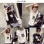 เสื้อยืดแฟชั่นสำหรับสาวๆ ผ้านิ่ม มีลายให้เลือกมากมาย และหลายขนาด SET3 thumbnail 9