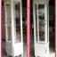 ตู้โชว์เดี่ยววินเทจกุหลาบสีขาวสำหรับร้านค้า thumbnail 3