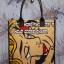 กระเป๋าผ้าcanvas สกรีนลาย popart2 thumbnail 1