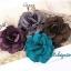 กิ๊บดอกไม้ผ้าคละสี thumbnail 3