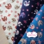 ผ้าคอตตอน 100% 1/4 ม.(50x55ซม.) พื้นสีครีม ลายช้าง thumbnail 3