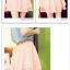 กางเกงแฟชั่นเกาหลี ใส่สบายด้วยผ้าชีฟอง มีซิบและมียางยืดมาในตัว thumbnail 7