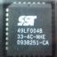SST49LF004B (PLCC32) 4M-BIT FWH(Firmware HUB) FLASH thumbnail 1