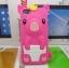 เคสไอโฟน 5/5s/SE (Case Iphone 5/5s/SE) เคสซิลิโคน หมูน้อย สีชมพูเข้ม thumbnail 1