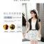 เสื้อคลุมกิ๊บเก๋ บางเบาแบบฉบับของผ้าชีฟอง สีดำและสีขาว ใส่ได้กับผ้าทุกสไตล์ thumbnail 7