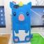 เคสไอโฟน 5/5s/SE (Case Iphone 5/5s/SE) เคสซิลิโคน หมูน้อย สีน้ำเงิน thumbnail 1