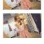 จั๊มสูทขาสั้น สีสันสดสวย เข้ากับเสื้อลายดอกแขนกุดน่ารักๆ ใครใส่ก็น่ารักฝุดๆ thumbnail 4